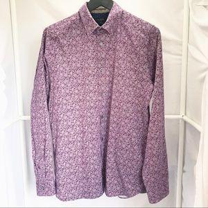 Ted Baker London Button Down Flip Cuff Shirt